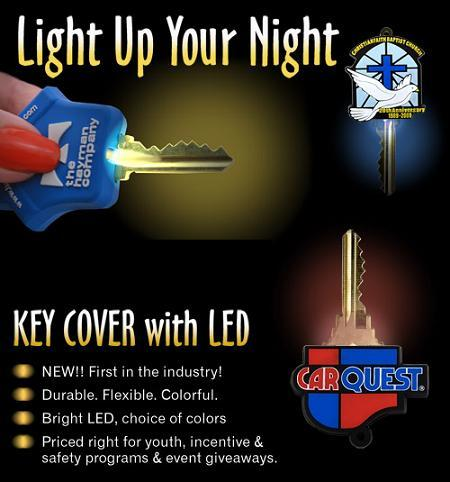 KEY COVER WITH LED (LIGHT)