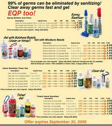 GEL & SPRAY SANITIZERS
