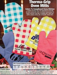 THERMO GRIPS OVEN MITTS