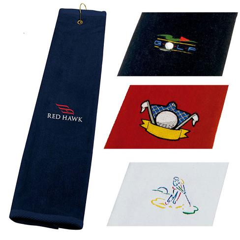 GOLF TRI  FOLD TOWEL